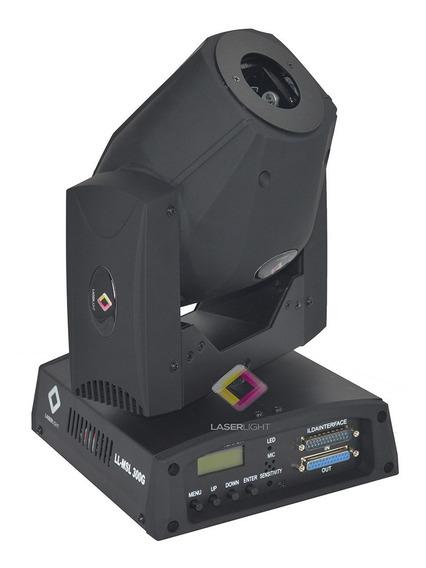 Moving Laser Gráfico Animado Verde 300mv Laser Show