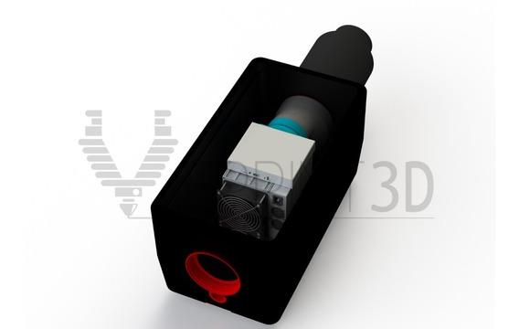 Reductor De Ruido Silenciador Para Antminers S9 Y Mas