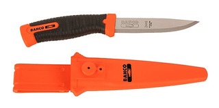 Cuchillo Bahco 2446 Funda Rigida Hoja 10cm Inoxidable