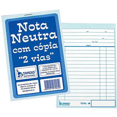 Imagem 1 de 1 de Bloco Nota Neutra 10,7x15,4 C/cópia 25x02 Vias 1005 Tamoio