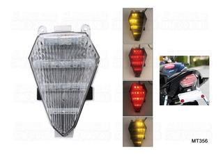 Stop Yamaha R6 2008-2016 Luz Trasera Transparente