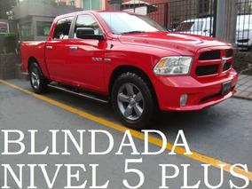 Pickup Ram 2015 4x4 Blindada Nivel 5 Plus Blindaje Blindados