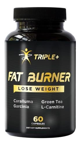 Fat Burner Quemador De Grasa Triple + Suplemento 60 Capsulas