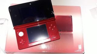 Nintendo 3ds Rojo Flama