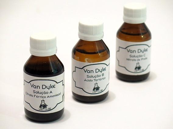 Kit De Químicos Para Van Dyke 60ml