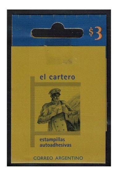 Filatelia Argentina Carnet Chequera Cat. Jalil N° 293 $ 3