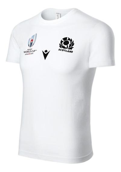 Remera Rugby Escocia Algodon Premium