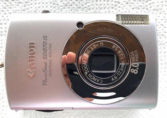 Máquina Fotográfica Canon Power Shot Sd870 Is Digital Elph