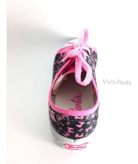 Tenis Barbie De Niña Choclo Originales Casuales Rosa