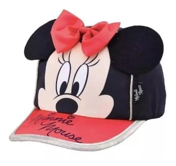 Gorro Footy Con Visera Y Orejas Minnie Disney Fty Calzados