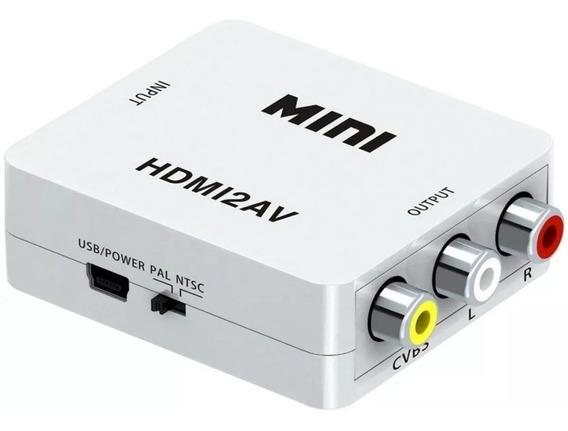 Conversor De Hdmi Para Rca Av - Ligar O Chrome Na Tv De Tubo