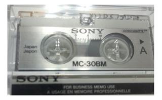 Microcassette Sony Mc - 30 El Mejor Precio En Micro Cassette