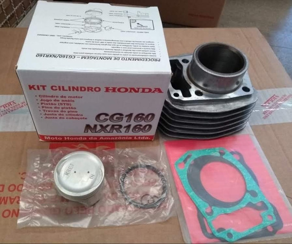 Kit Cilindro Cg-fan 160 Nxr Bros 160 Original