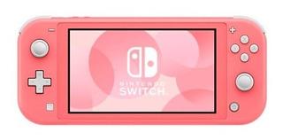 ..:: Consola Nintendo Switch Lite Coral ::.. En Game Center