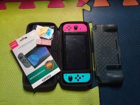 Nintendo Switch + Jogos C/ Caixa Completo!