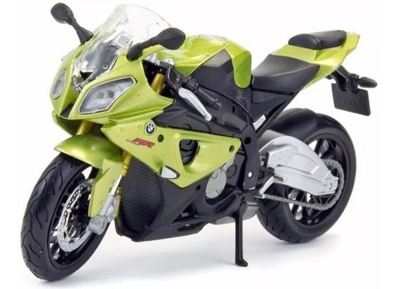 Miniatura Moto Colecionador Bmw S 1000 Rr Escala 1/18 Maisto