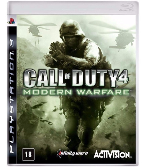 Call Of Duty Modern Warfare 4 Ps3 Novo E Lacrado