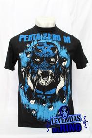 Camiseta Lucha Libre Pentagon Azul