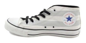 Zapatos Dama Convers All Star Gris 131077c