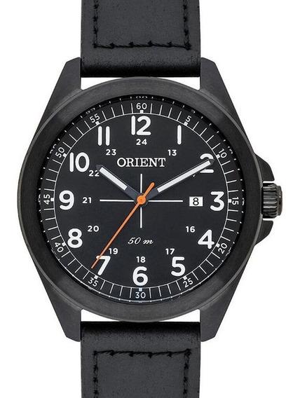 Relógio Orient Masculino Couro Preto Mpsc1011 P2px