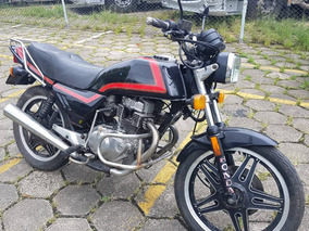 Moto Honda Cb 400 Ano 1981 Gasolina - So Venda