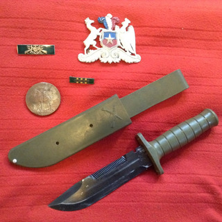 Cuchillo Corvo Famae Carabineros Supervivencia