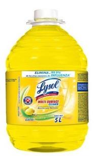 Lysol Antibacterial 5 Litros Multisuperficies Elimina 99.9%