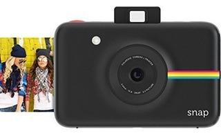 Cámara Digital Instantánea Polaroid Snap (negr