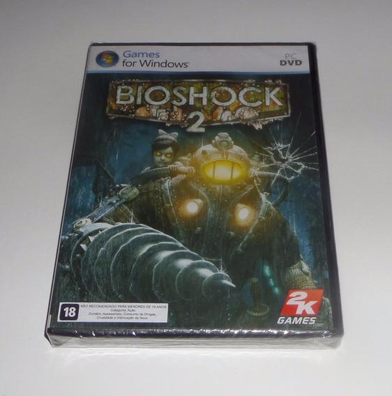 Bioshock 2 Original Lacrado Mídia Física Pc