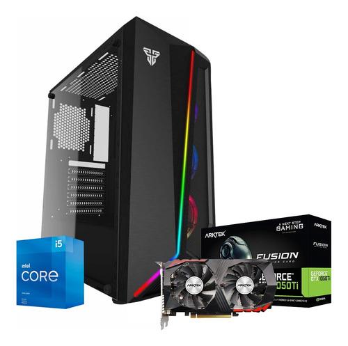 Imagen 1 de 3 de Pc Gamer Nueva Core I5 16gb 120ssd+2tb Video Gtx1050ti 4gb