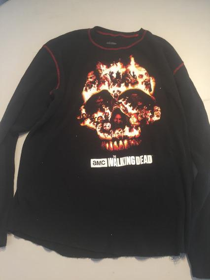 Camisa De Walking Death L 3
