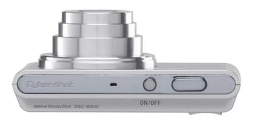 Câmera Sony Dsc-w830 Prata 20.1 Mp Zoom 8x