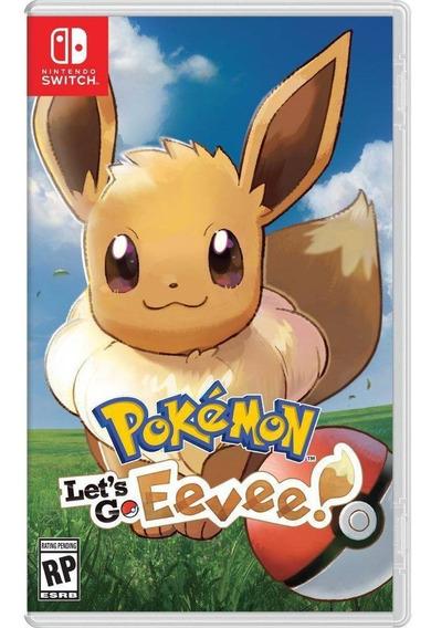 Jogo Pokemon Lets Go Eevee Nintendo Switch - Mgsp