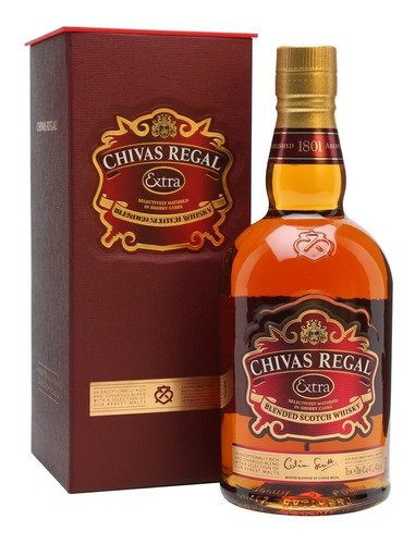 Imagen 1 de 2 de Chivas Regal Extra Blended Licores Importado The Dutty Beer