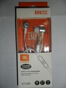Fone De Ouvido Jbl Ict-289 Branco Headphones