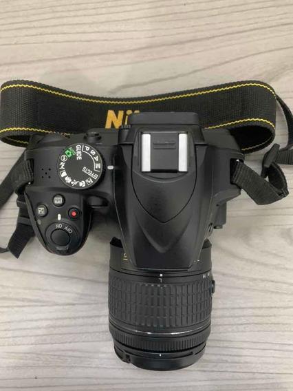 Câmera Nikon D3400 + Lente Nikon 18-55mm