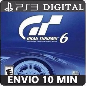 Gran Turismo 6 Ps3 Código Psn Dub Português Envio Imediato