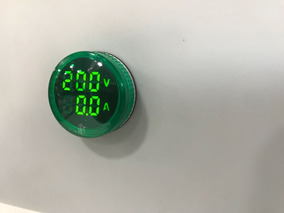 Voltimetro/amperimetro Digital 22mm 60~500vca/0~100a