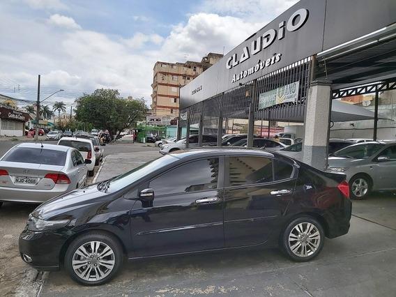 Honda City Ex 1.5 Flex Automatico Banco De Couro