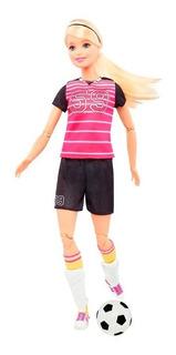 Muñeca Barbie Movimientos Deportivos Dvf68