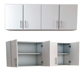 Alacena Cocina 160 Cm Mosconi Blanca 10082 - Luico