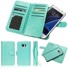 8aa513bc10f Lake Green - For Iphone 5s 4 - Lujo Libro Cartera Foto-5505
