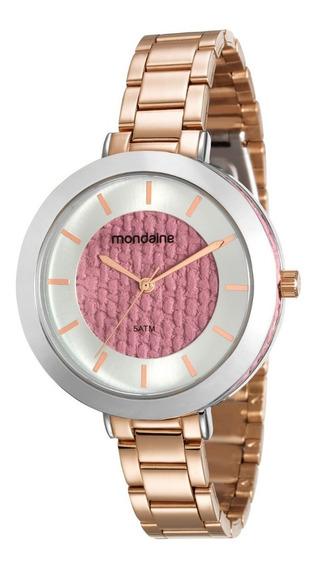 Relógio Feminino Mondaide 99172lpmvre4 Promoção Dia Dos Pais