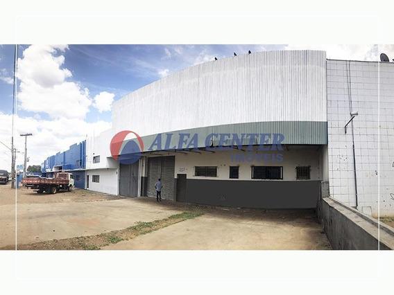 Galpão Para Alugar, 670 M² Por R$ 7.300/mês - Capuava - Goiânia/go - Ga0108