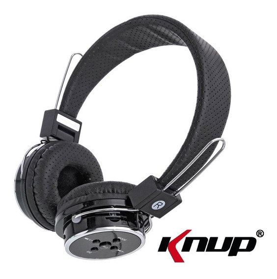 Fone Ouvido Headset Knup Kp-367 Bluetooth Sem Fio Wireless