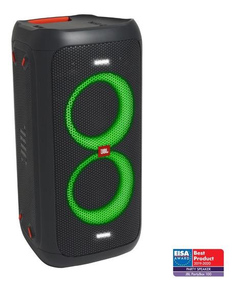 Caixa Amplificada Jbl Party Box 100 160w Bluetooth - Até 12h