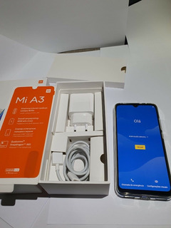 Xiaomi Mi A3 128mb Azul (novinho,descontão Na Descrição Ler)