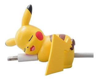 Acessório Pokémon Para Cabo Usb Pikachu Eevee Vulpix