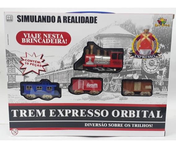 Trem Expresso Orbital - Art Brink