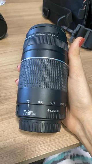 Lente Canon Ef 75-300mm 1:4-5,6 Iii